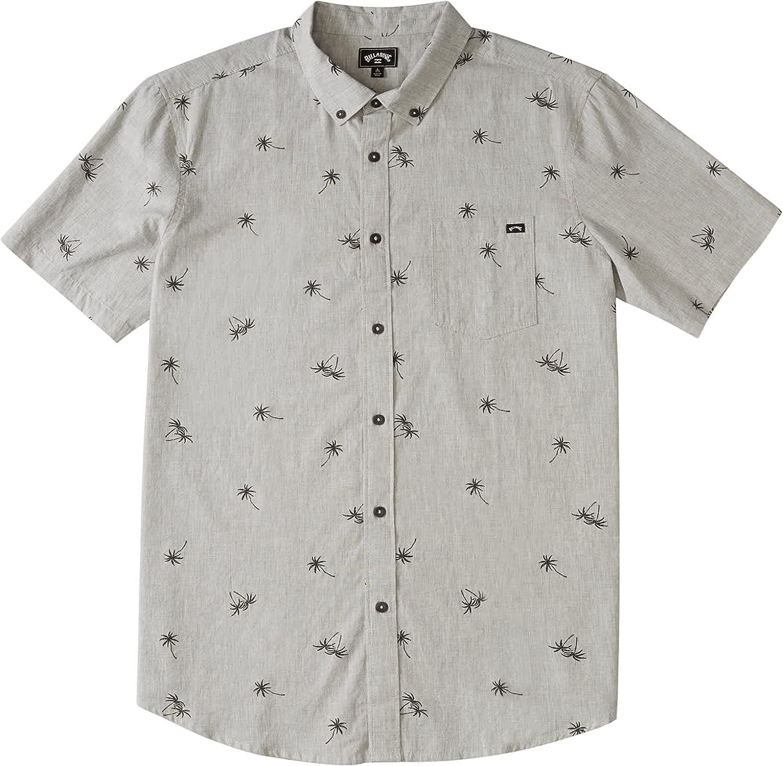 Billabong Men's Sundays Mini Short Sleeve Woven Shirt