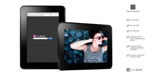 『Free Full Screen Private Browsing for Kindle』のトップ画像