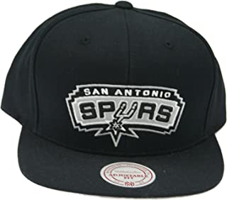 Mitchell & Ness San Antonio Spurs NBA Current Wool Solid 2 Snapback Cap