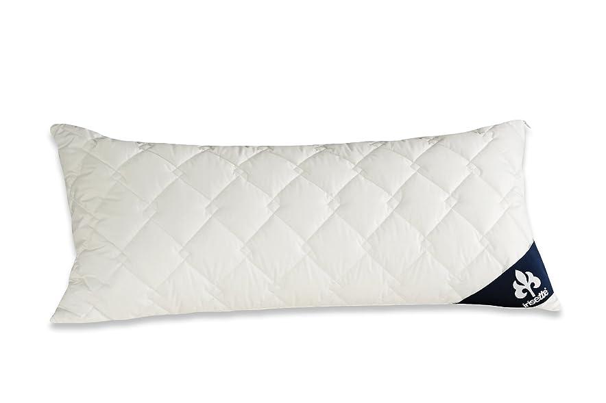 蒸気ブローホールフォークBadenia Bettcomfort Irisette Atmosphere 03840890108クッション40x80 cm、色:ホワイト