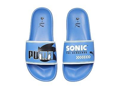 Puma Kids Sega Leadcat FTR Sonic (Big Kid) (Palace Blue/White) Boys Shoes