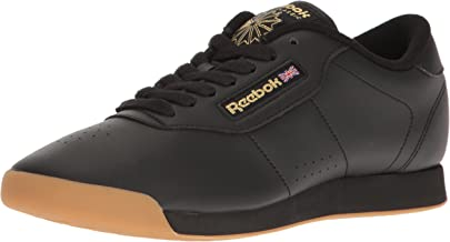 Reebok Women's Princess Walking Shoe, Black/Gum, 7.5 M US