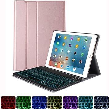 HAPPON Funda Teclado iPad 10.2 2019 [Diseño español], Funda ...