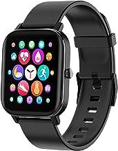 ساعت هوشمند FirYawee ، ساعت هوشمند 1.4 اینچی با صفحه لمسی ، ردیاب تناسب اندام ضد آب IP68 با مانیتور ضربان قلب و مانیتور خواب ، شمارنده گام و فاصله ، ساعت هوشمند مردانه برای آندروید آیفون