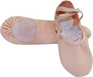 Adult Stretch Canvas Split Sole Ballet Slipper