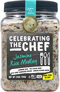 Nature's Earthly Choice Celebrating the Chef Jasmine Rice Medley, Pack of 4 (25 oz.)