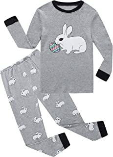 Dolphin&Fish Boys Pajamas Little Toddler Pjs Sets 100% Cotton Kids Clothes Sleepwears