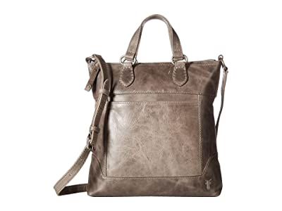 Frye Melissa Small Tote Crossbody (Ice Antique Pull Up) Cross Body Handbags