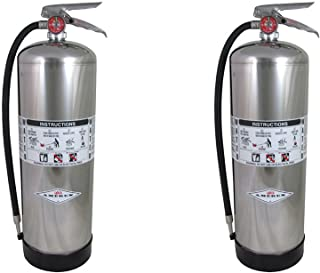 Amerex 240, 2.5 Gallon Water Class A Fire Extinguisher (2 PACK)