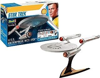 Star Trek Level 5 Model Kit with Sound & Light Up 1/600 USS Enterprise NCC-1701