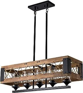 Best farmhouse glass chandelier Reviews