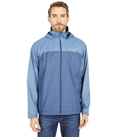Columbia Glennaker Lake Lined Rain Jacket (Dark Mountain/Bluestone) Men