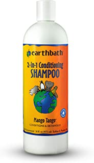 Earthbath Natural Mango Tango 2 In 1 Conditioning Shampoo with Mango Scent, 16Oz