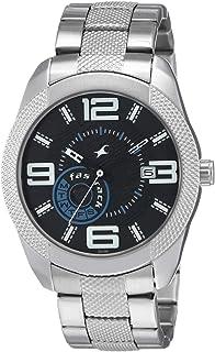 Fastrack Denim Analog Black Dial Men's Watch-3187SM01