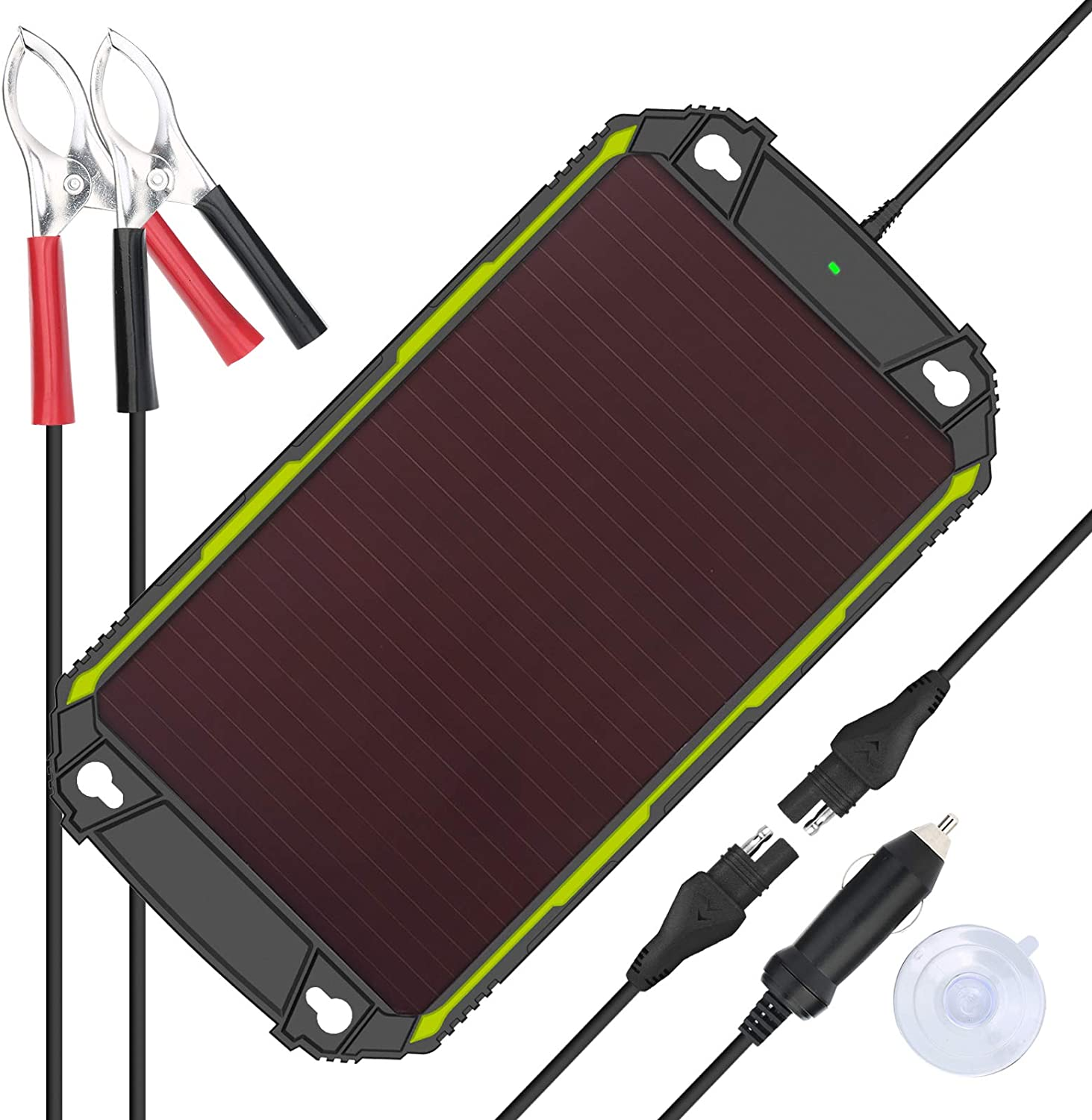 Sun Energise Waterproof 12V Manufacturer regenerated product Be super welcome 5W Solar Battery Built Charger Pro -