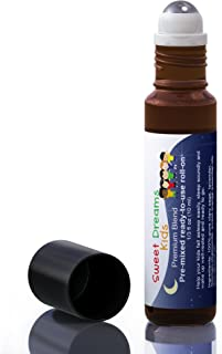 Aromata Sweet Dreams Kids. Help Kids Unwind, Fall Asleep Easily and Sleep Better. Premixed, Kid-Ready Essential Oil Sleep aid. 100% Natural & Safe for Kids. Parent Tested, Kid Approved