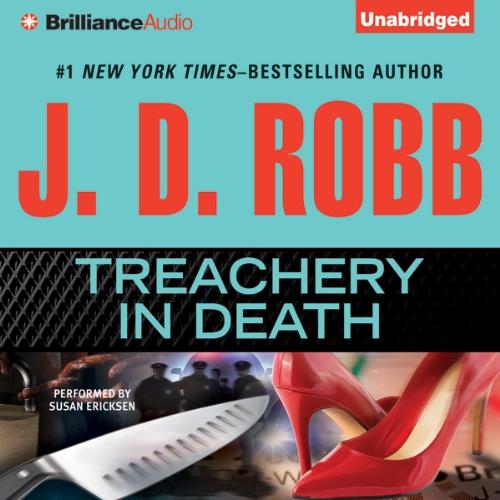 Treachery In Death Audiobook By J. D. Robb cover art