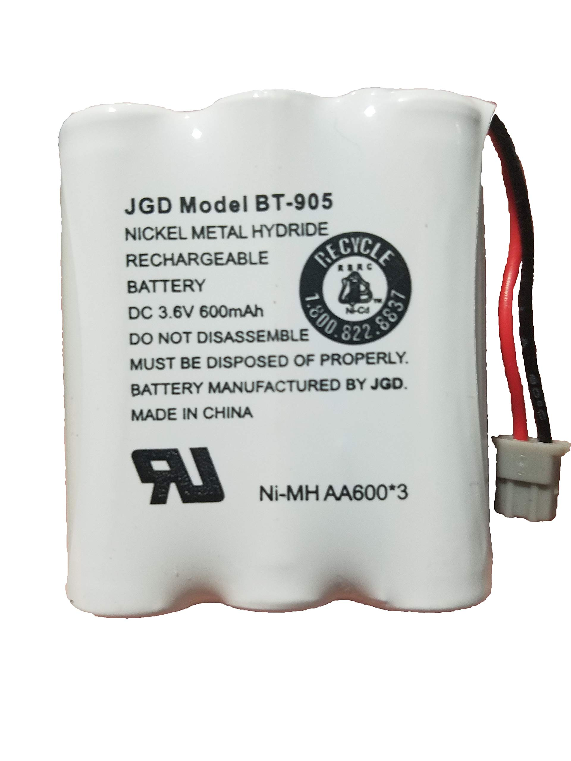 Bateria Para Uniden BT905 BT800 BT-1006 BP-905BBTY-0444001 B