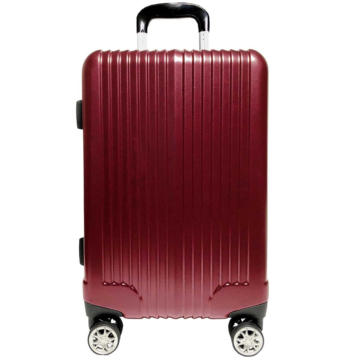 充電声を出して考古学【A PERFORMER】スーツケース Wキャスターストッパー付 キャリーケース TSAロック搭載 超軽量 ファスナー(04018-14018-24018)