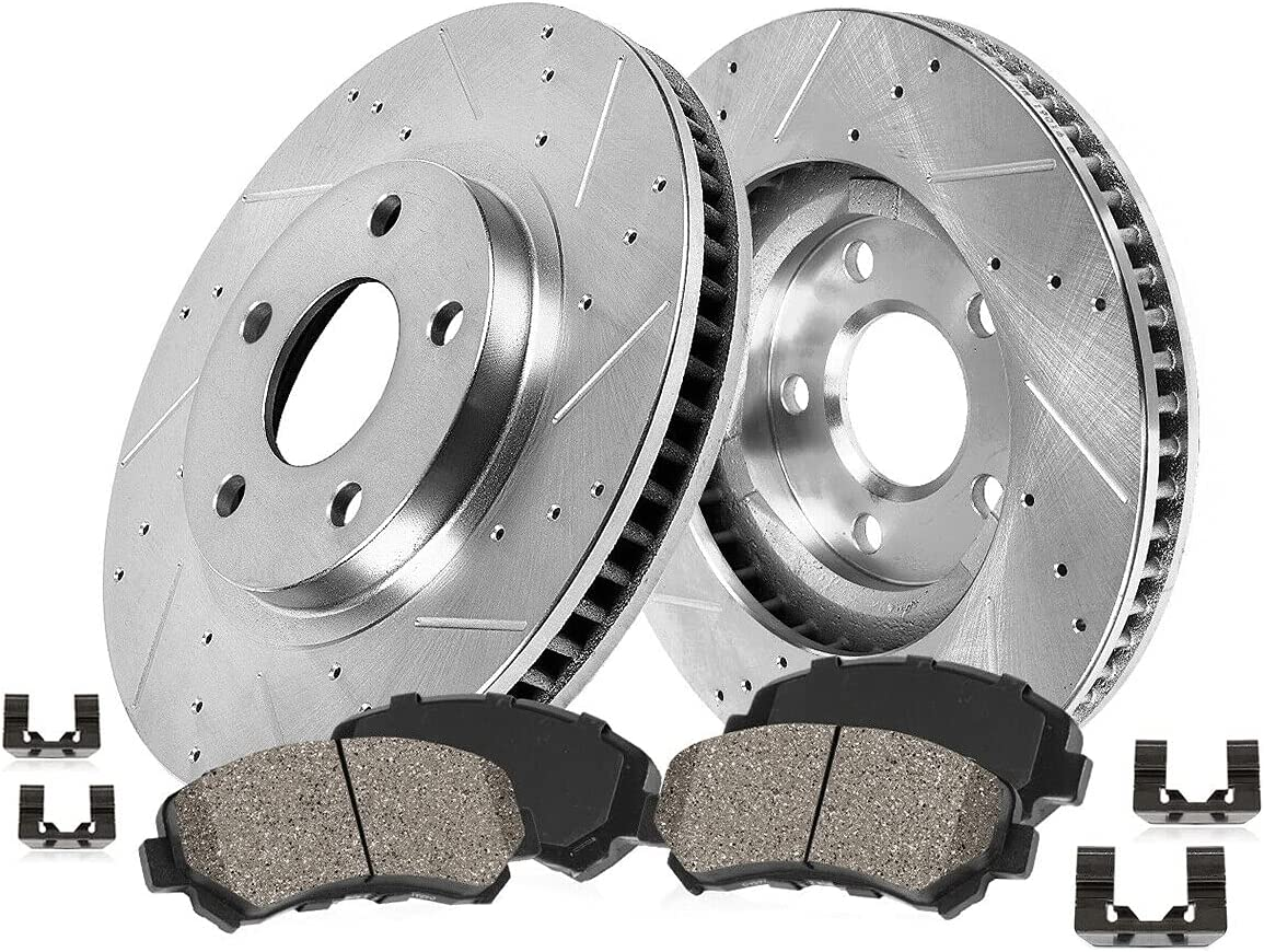 Uncle Johnny Customized Front Super beauty product restock quality top Minneapolis Mall Drill Pa Rotors Brake Ceramic Slot