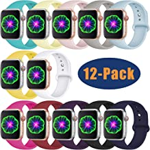 Laffav Compatible with Apple Watch Band 42mm 38mm 40mm...