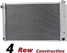 Primecooling 4 Row All Aluminum Radiator for Chevy /GMC Blazer ,C/K Series Pickup Truck More V8 Models 1973-91