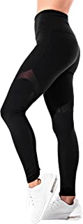OUT & ABOUT Akari Yoga Pants for Women, High Waist,  Tummy Control,  Workout Pants,  4 Way Stretch Leggings