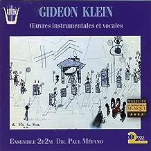 Klein Gideon 1919-1945: Piano Sonata / Duo For Violin & Viola / Duo For Violin & Cello / 4 Move