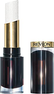 Revlon Super Lustrous Glass Shine Lipstick, Moisturizing Lipstick with Aloe and Rose Quartz in Clear, 001 Sparkling Quartz, 0.15 oz