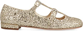 MIU MIU Luxury Fashion Womens 5F863CFD0103KBWF0846 Gold Flats | Fall Winter 19