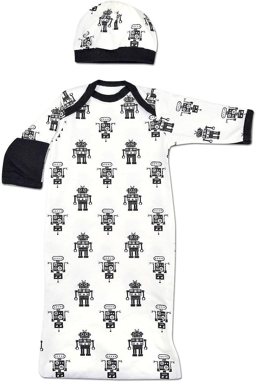 Perfectly Preemie Boys & Girls Baggette Sleeper Gown