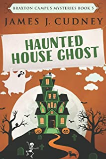 Haunted House Ghost: Large Print Edition