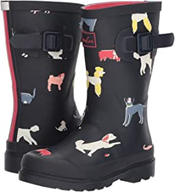 Joules Kids Printed Welly Rain Boot (Toddler/Little Kid/Big Kid)