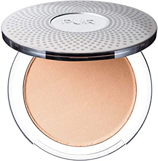 PÜR 4-in-1 Pressed Powder Mineral Foundation with Concealer, Finishing Powder and SPF 15. Cruelty Free & Vegan Friendly
