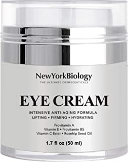 Eye Cream Moisturizer for Dark Circles, Fine Lines, Puffiness and Wrinkles Under the Eyes – Intensive Anti Aging Formula w...