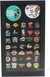 Pin Collector's Display Case Shadow Box - for Disney, Hard Rock, Olympic, Campaign Pins, Brooches and Medals Memorabilia