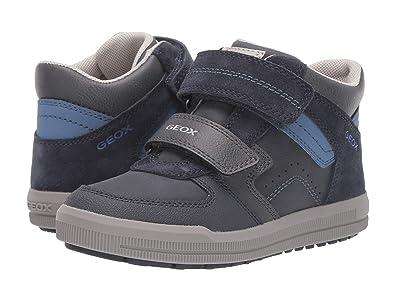 Geox Kids Jr Arzach 16 (Little Kid/Big Kid) (Navy/Avio) Boys Shoes