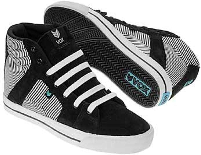 Vox S board Schuhe Footwear Vamp Schwarz Blau Blau Linear  wird dich zufrieden stellen