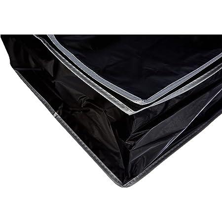 Compactor Housse de Rangement Dessous de Lit, Noir, Polypropylène et EVA, 45 x 95 x H. 18 cm, RAN6272