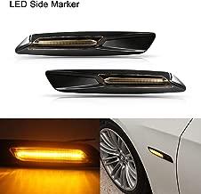 2x intermitente lateral intermitentes intermitente blanco lateralmente BMW