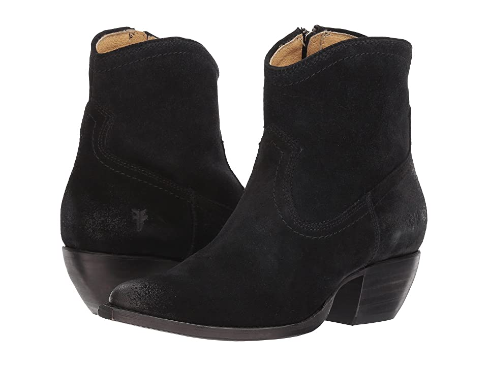Frye Sacha Short (Black) Cowboy Boots