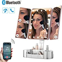 Best lighted mirror with bluetooth speaker Reviews