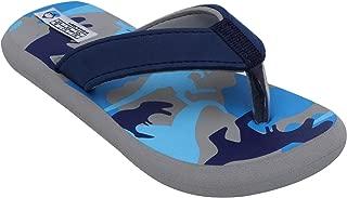 D'chica Bro Classic Grey Slippers for Boys Flip-Flops (DCJU5242)
