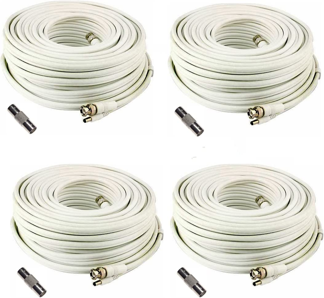 Lot High quality of 4 Generic SEA-C101-150 150 Las Vegas Mall Cable Foot Camera Security for
