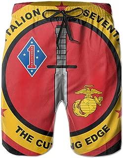United States Marine Corps Force Recon Boardshorts Mens Swimtrunks Fashion Beach Shorts Casual Shorts Boardshort