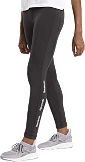 Reebok Women's Te Linear Logo Ct Legging Tights