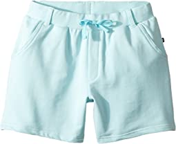 Bright Blue French Terry Camp Shorts (Toddler/Little Kids/Big Kids)