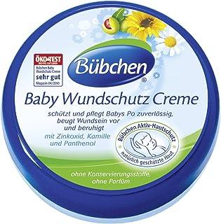 Bübchen Blaue Line Baby Wundschutz Creme, 2er Pack 2 x 150 ml