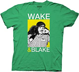 Ripple Junction Workaholics Wake and Blake Adult T-Shirt