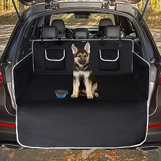 Toozey Kofferraumschutz Hund mit Seitenschutz - Universal Auto Kofferraum Hundedecke - Robuste Schutzmatte für Hunde